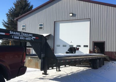 LONG PANEL RUN RIGHT ONTO YOUR TRAILER